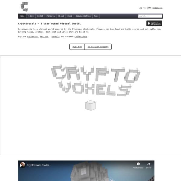 A virtual blockchain world