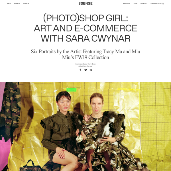 (Photo)Shop Girl: Art and E-Commerce With Sara Cwynar