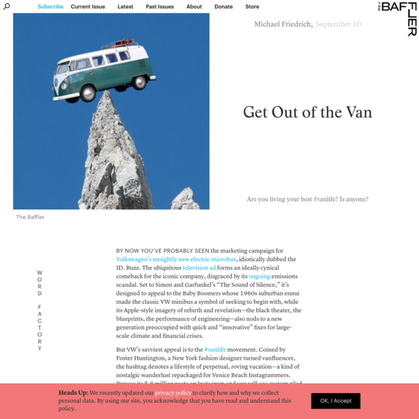 Get Out of the Van | Michael Friedrich