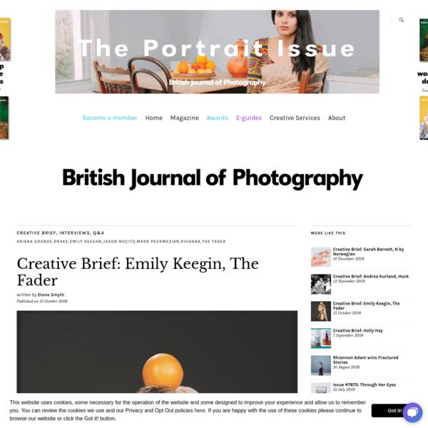 Creative Brief: Emily Keegin, The Fader