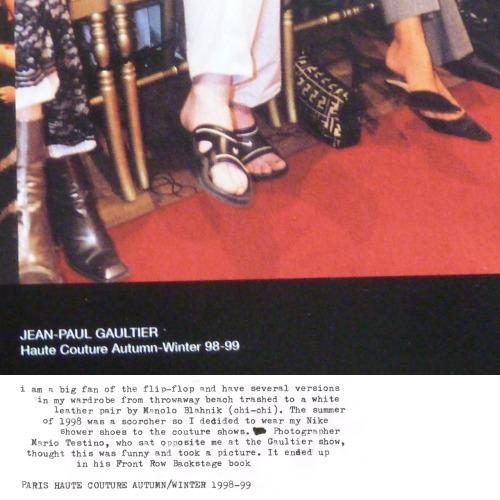 Mario Testino on Jean Paul Gaultier