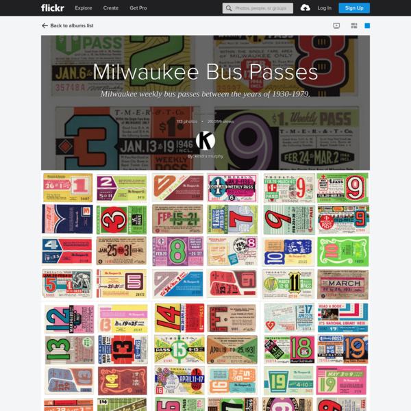 Milwaukee Bus Passes