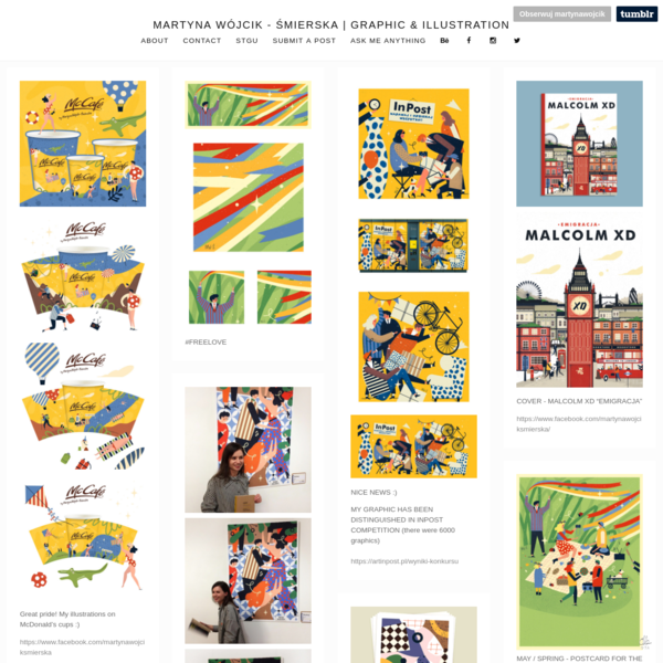 martyna wójcik - śmierska | Graphic & Illustration