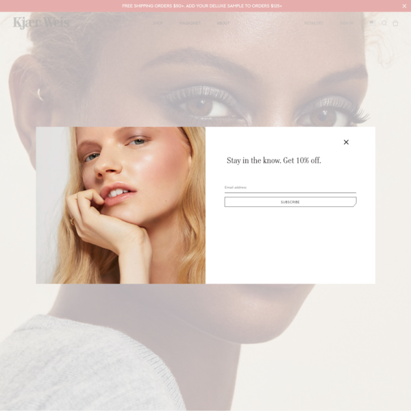 Certified Organic Makeup - Shop Now