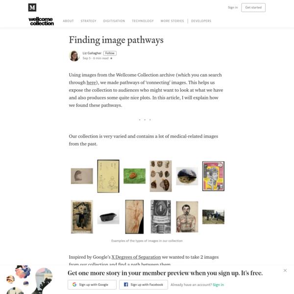 Finding image pathways