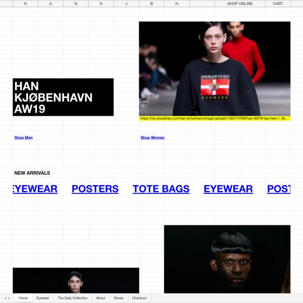 Home Page | Han Kjøbenhavn
