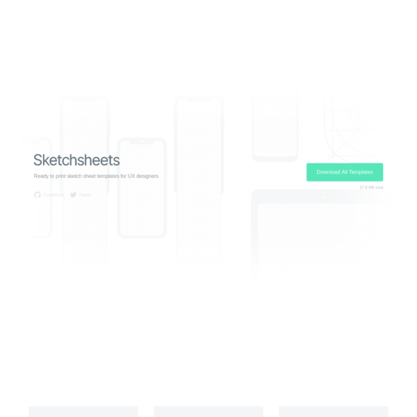 Sketchsheets - Ready to print sketch sheet templates for UX designers