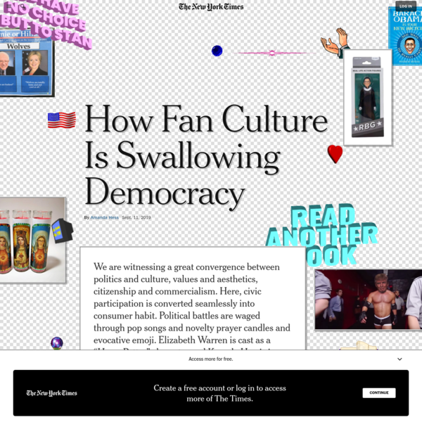 How Fan Culture Is Swallowing Democracy