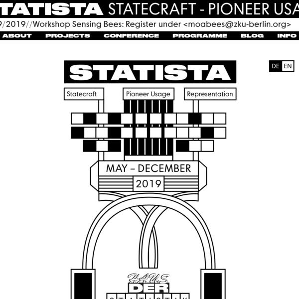 STATISTA | Statecraft - Pioneer Usage - Representation