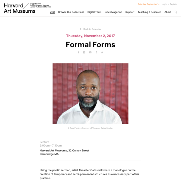Theaster Gates, Formal Forms, Harvard Art Museums