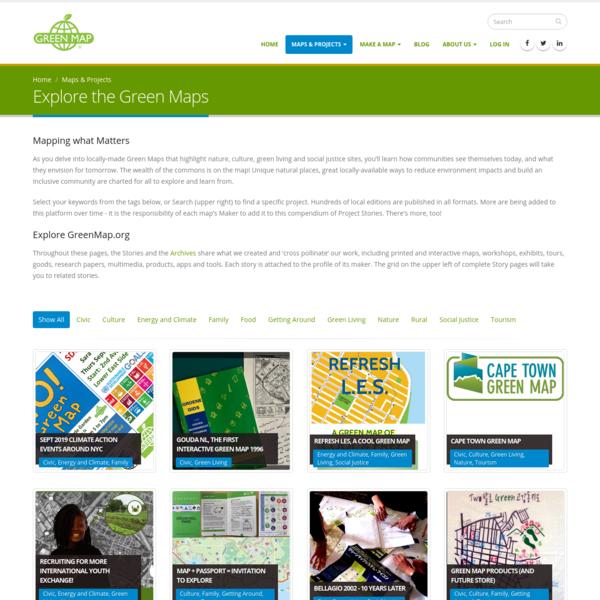 Explore the Green Maps