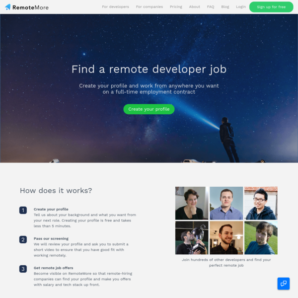 RemoteMore | The future of work