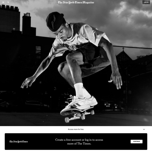 New York City's First Skateboarding Superstar