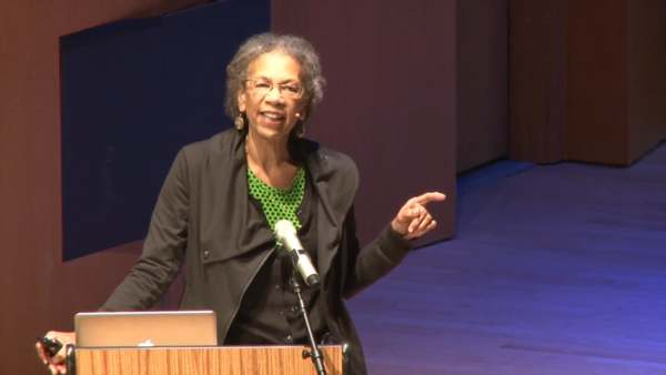 """Ruth Wilson Gilmore: """"Organized Abandonment and Organized Violence: Devolution and the Police"""" 11.9.15"""