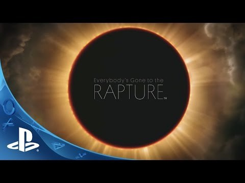 Check out the upcoming PS4 exclusive, Everybody's Gone to the Rapture. Choral music performed by Londinium, conducted by Andrew Griffiths. ©2013 Sony Computer Entertainment America LLC. Everybody's Gone to the Rapture is a trademark of Sony Computer Entertainment America LLC. Developed by The Chinese Room.