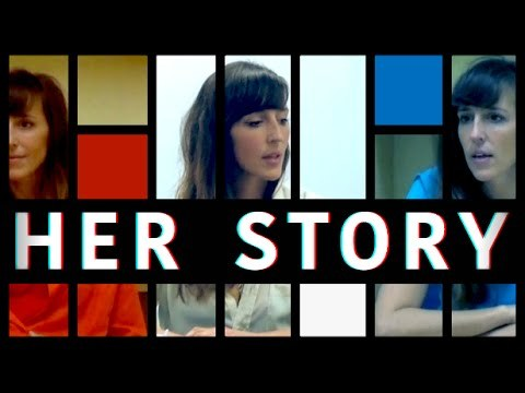 Her Story is the new game from Sam Barlow, creator of Silent Hill: Shattered Memories and Aisle. A woman is interviewed seven times by the police. Search the video database and explore hundreds of authentic clips to discover her story in this groundbreaking narrative game.