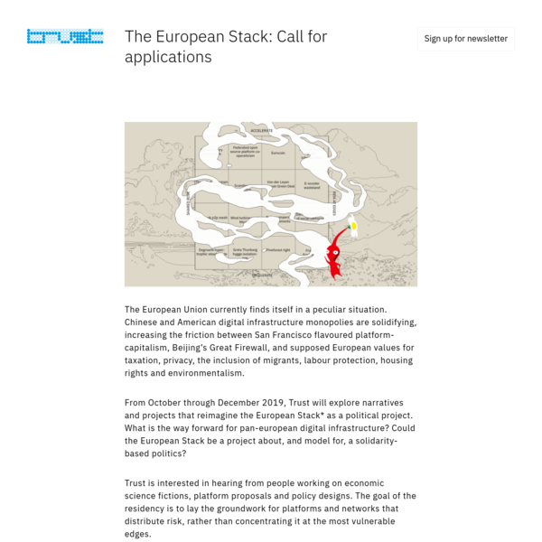 Trust - The European Stack: Call for applications