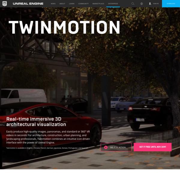 Unreal Engine   Twinmotion