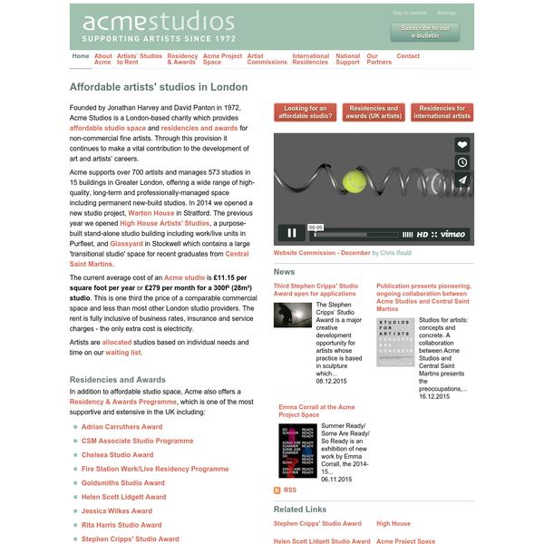 Acme Studios - Home