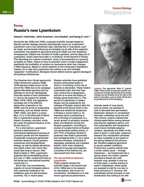 Russia's New Lysenkoism.pdf