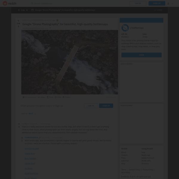 "r/battlemaps - Google ""Drone Photography"" for beautiful, high-quality battlemaps"