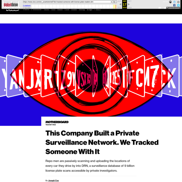 This Company Built a Private Surveillance Network. We Tracked Someone With It