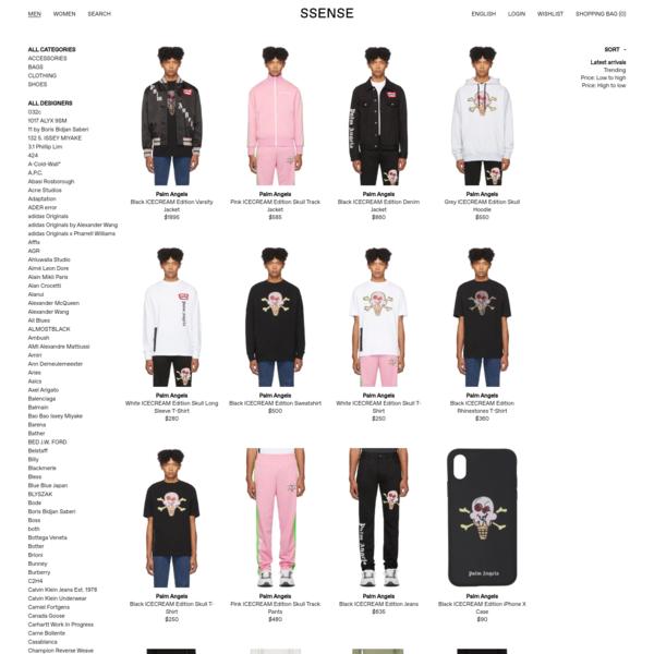 Designer Clothes, Shoes & Bags for Men | SSENSE