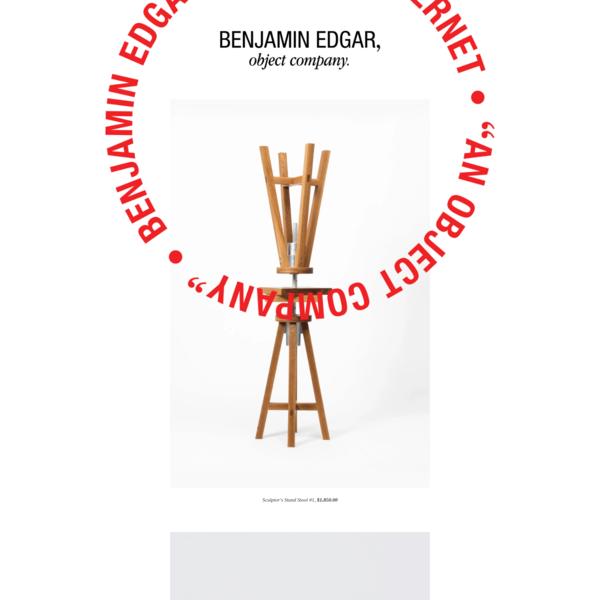 BENJAMIN EDGAR, or whatever. - BENJAMIN EDGAR, object company.