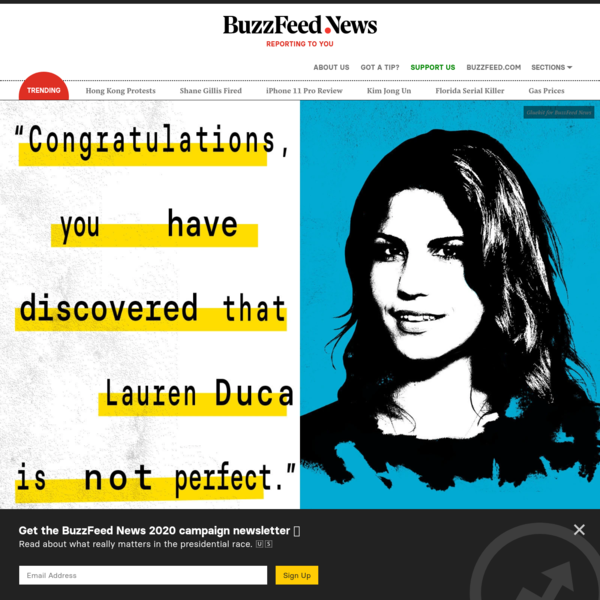 How Did Lauren Duca's Revolution Backfire?