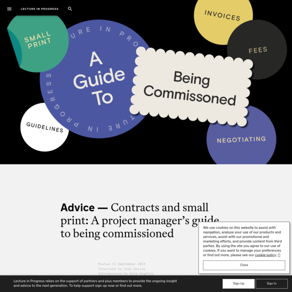 Contracts and small print: A project manager's guide to being...