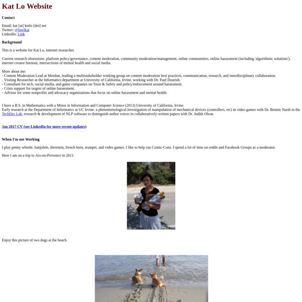 Kat Lo Website