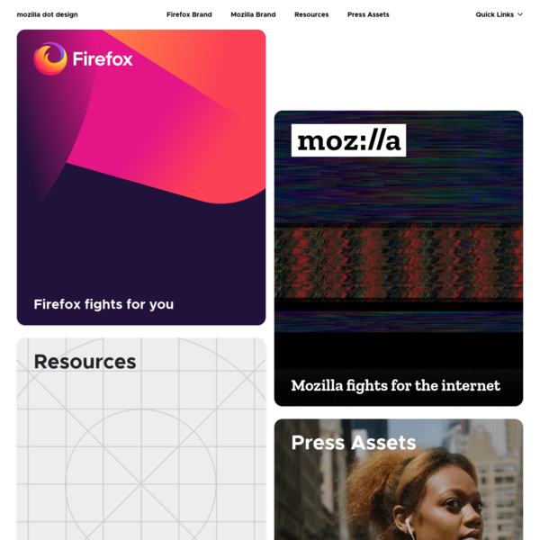 Home - Mozilla Dot Design