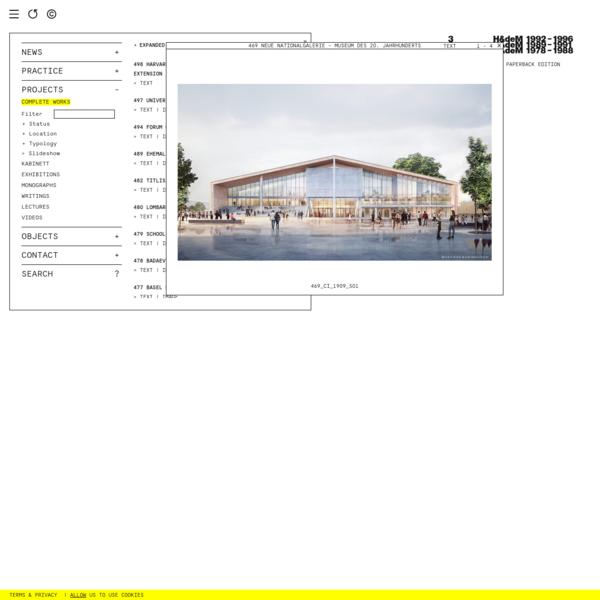 469 NEUE NATIONALGALERIE - MUSEUM DES 20. JAHRHUNDERTS - HERZOG & DE MEURON