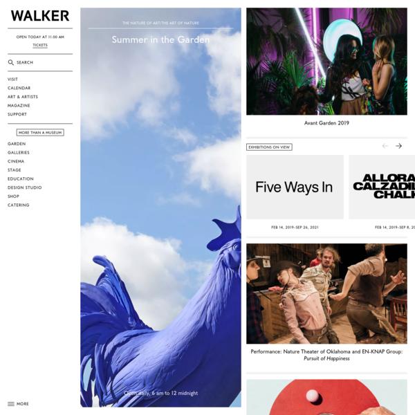 Walker Art Center | Contemporary Art Museum | Minneapolis