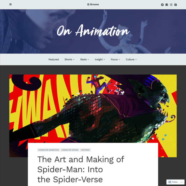 The Art and Making of Spider-Man: Into the Spider-Verse