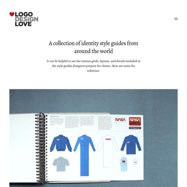 Brand identity style guide documents | Logo Design Love