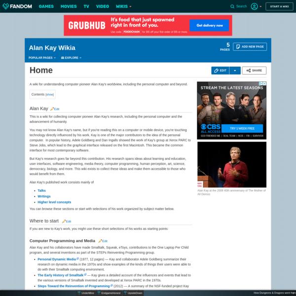Alan Kay Wikia