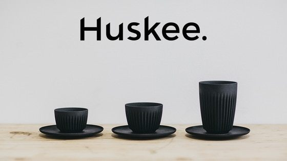 HuskeeCup: Waste Made Beautiful.