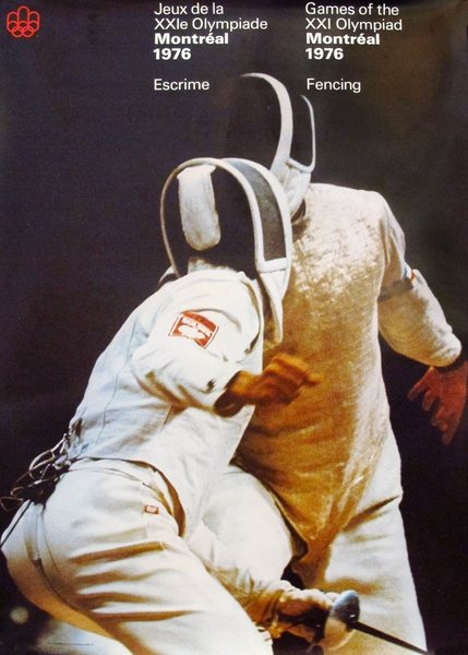 1976 Montreal Olympic Games - Fencing