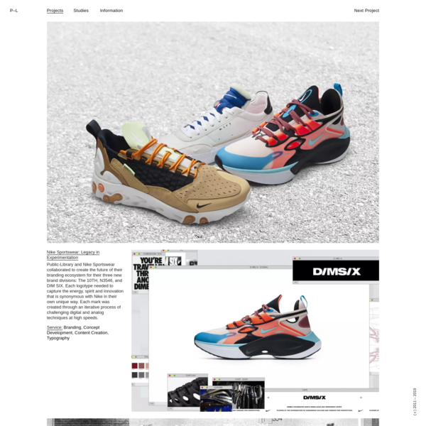 Nike Sportswear: Legacy in Experimentation - Public-Library