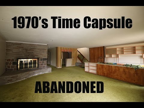 Exploring Abandoned 1970's Time Capsule (Found Safe & Secret Room)
