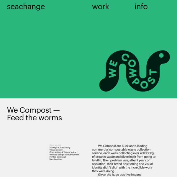 Seachange - We Compost
