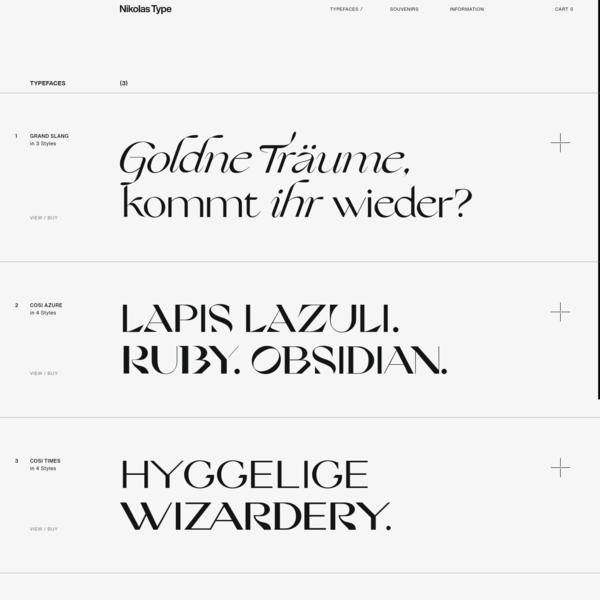Nikolas Type