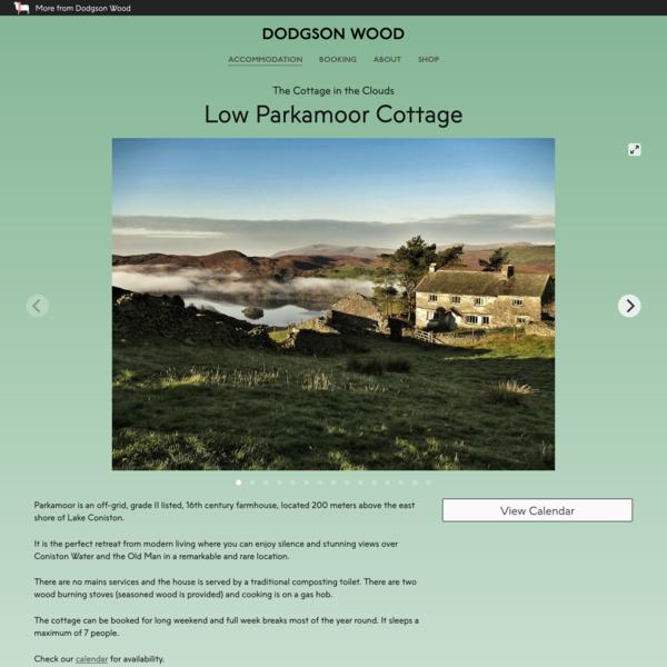 Low Parkamoor Cottage