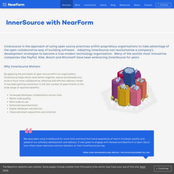 InnerSource for efficiency to get to market faster