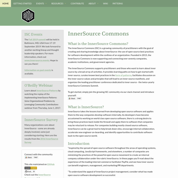 InnerSource Commons
