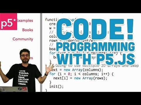 1.1: Code! Programming for Beginners with p5.js