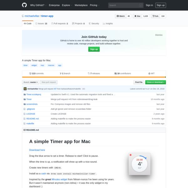 michaelvillar/timer-app