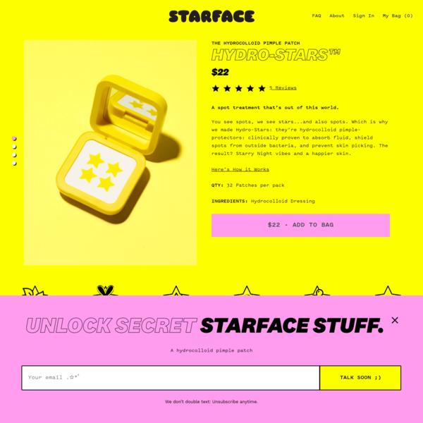 Hydro-Stars™ - Starface World