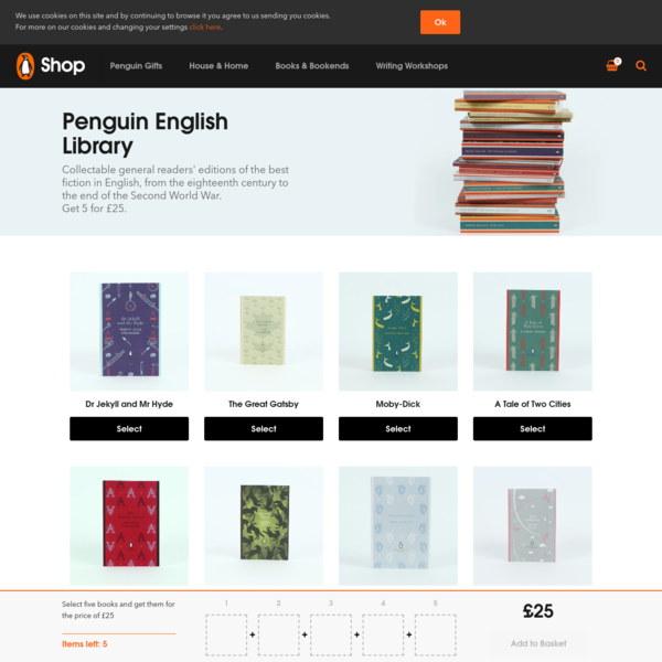 Penguin English Library Books | Buy 5 for £25 | Penguin Shop